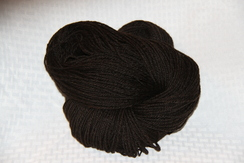 Photo of Yarn - Home/Hand Spun Fine Fleece- Black