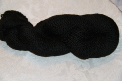 Photo of Yarn - Spun from Fine Fleece - Black