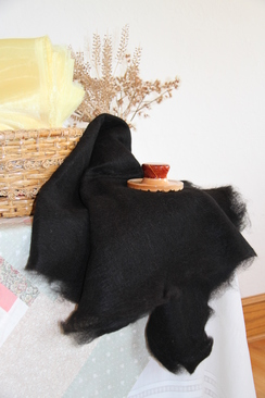 Photo of Felt - Full Sheets of Black,Brown & Fawn