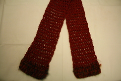 Photo of 100% Silk Crochet Scarf