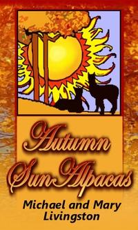Autumn Sun Alpacas - Logo