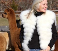 Photo of 100% Baby Alpaca Fur Vest