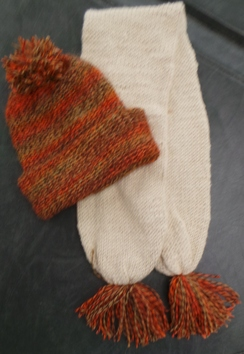 Photo of Matching Scarf and Hat