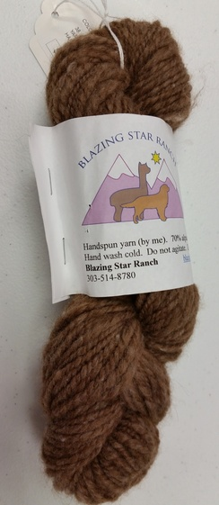 Photo of Handspun alpaca/wool
