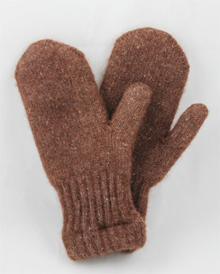 Photo of Boucle Lined Alpaca Mittens