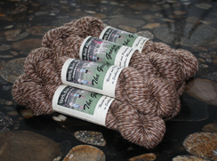 Photo of Suri Alpaca Yarn - River Dance Heather