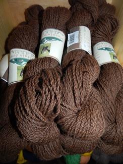 Photo of Alpaca Yarn~Natural Brown