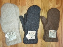 Photo of Boucle Lined Mittens