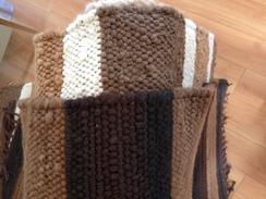 Photo of 3' X 5' Hand Woven Alpaca Rug