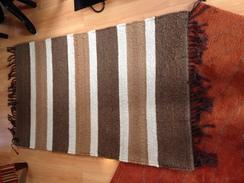 Photo of 4' x 6' Hand Woven Alpaca Rug