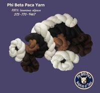 Phi Beta Paca™ Alpacas & Yarns - Logo
