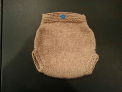 Photo of Hand-knit Newborn Baby Diaper Cover