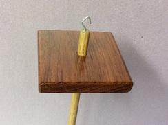Photo of Bubinga drop spindle 4
