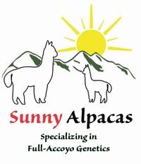 SUNNY ALPACAS - Logo