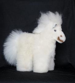 Photo of Plush Horse - 100% Alpaca Fur