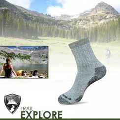 Photo of 'EXPLORE' Altera Alpaca MICRO sock