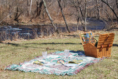 Enjoy a picnic by the river.
