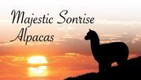 Majestic Sonrise Alpacas - Logo