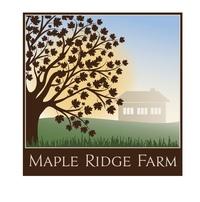 Maple Ridge Farm - Logo
