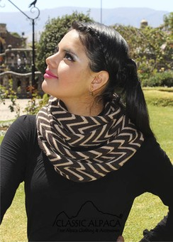 Photo of Infinity Alpaca Scarf-Includes Shipping