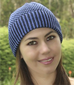 Photo of Honeycomb Alpaca Hat-Includes Shipping