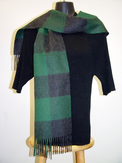 Photo of Overcheck Alpaca Scarf-Includes Shpg