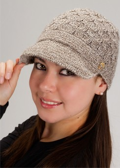 Photo of Alpaca Brimmed Hat-Includes Shipping