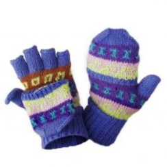 Photo of  Hand Knit Alpaca Glittens-Includes Shpg