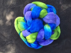 Photo of Hand Painted Roving