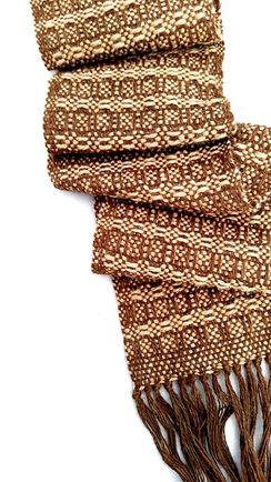 Photo of Waffle Weave Scarf