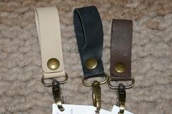 Photo of Alpaca Leather Key Fob