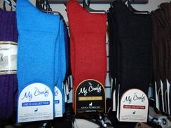 Photo of My Comfy Dress Socks
