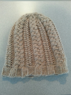 Photo of Fox Wire Farm Hand Made Cable Knit Hat