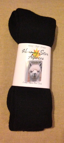 Photo of Humming Star Alpaca Boot Socks /Men's