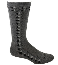 Photo of Alpacor Mid-Calf Argyle Dress Socks