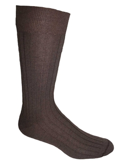 Photo of Alpacor Mid-Calf Ribbed Dress Socks