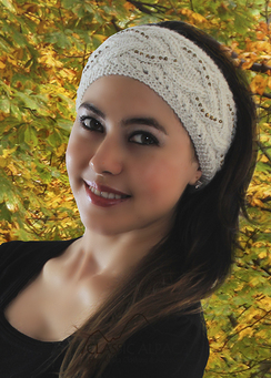 Photo of Diana Cable Alpaca Headband