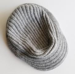 Photo of Alpaca Knit Hat featuring Brim