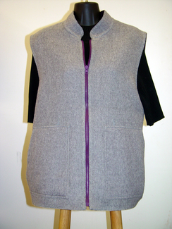 Photo of Alpaca Reversible Vest-Includes Shipping