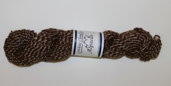 Photo of Yarn - 100% Alpaca Brown & White