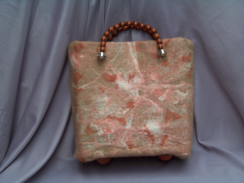 Photo of Mosaic Alpaca & Silk Handbag