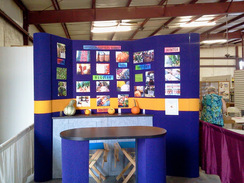 Photo of Trade show display