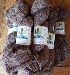 Photo of Alpaca Yarn~Fawn Tweed