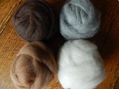 Photo of Alpaca Roving Variety