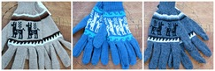 Photo of Alpaca print gloves
