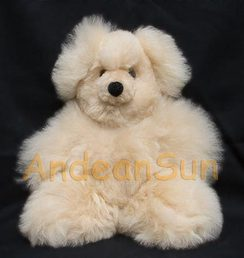 "Photo of 10"" Alpaca Teddy Bear"