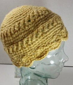 Photo of Crocheted hat