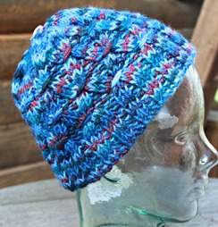 Photo of Smocked variegated hat