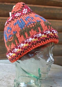 Photo of Peruvian print hats