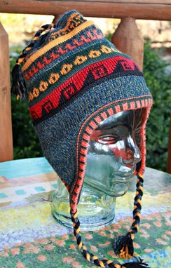 Photo of Fleece-lined Peruvian hat